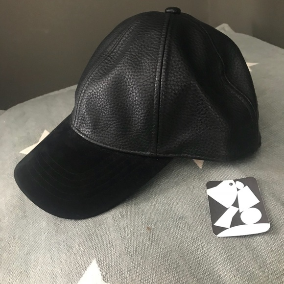 0669a4ce5 Urban Outfitters Accessories | Bnwt Leather Baseball Cap Hat | Poshmark